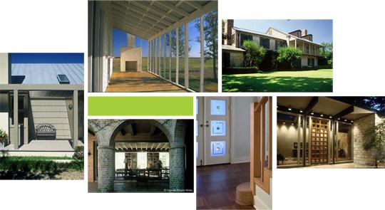 Texas Modern Collage