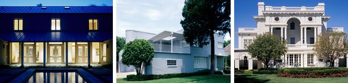 Dallas Architectural Styles Collage
