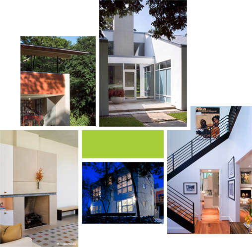 Dallas Modern Homes For Sale Collage