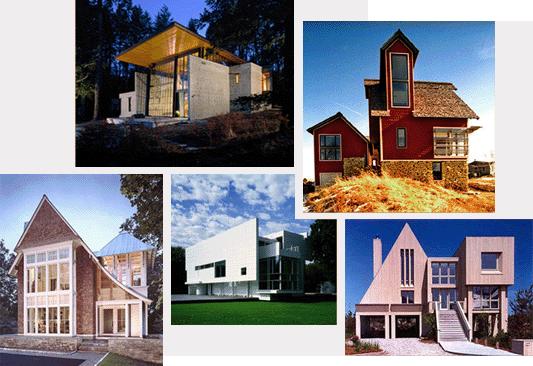 Architecture United States Collage