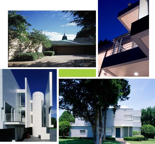 Dallas Modern Homes Collage