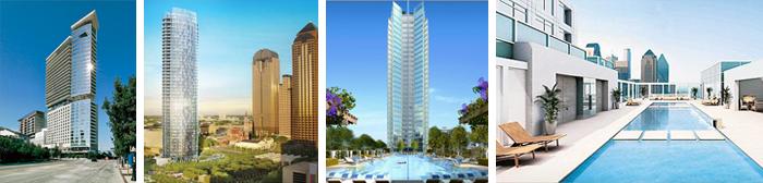 Downtown Dallas Collage